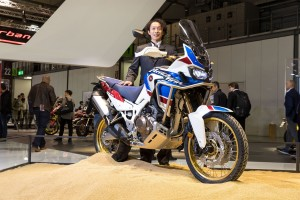 Kenji Morita, Large Project Large for the Africa Twin.